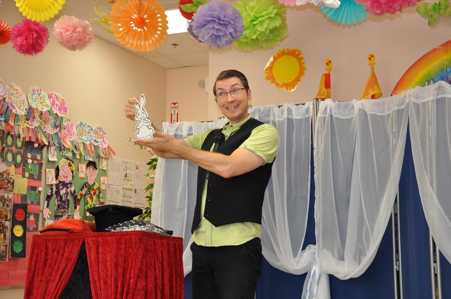We loved Scott Dietrichs daycare magic show at Imaginarium For Kids Childcare Center